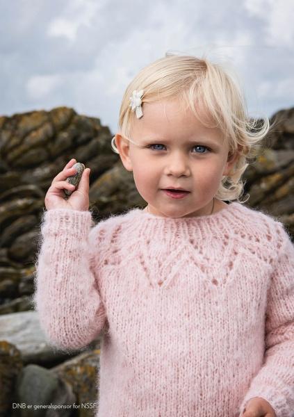 TirilGenser Barn Oppskrift Nøstenett Dine nøster, rett