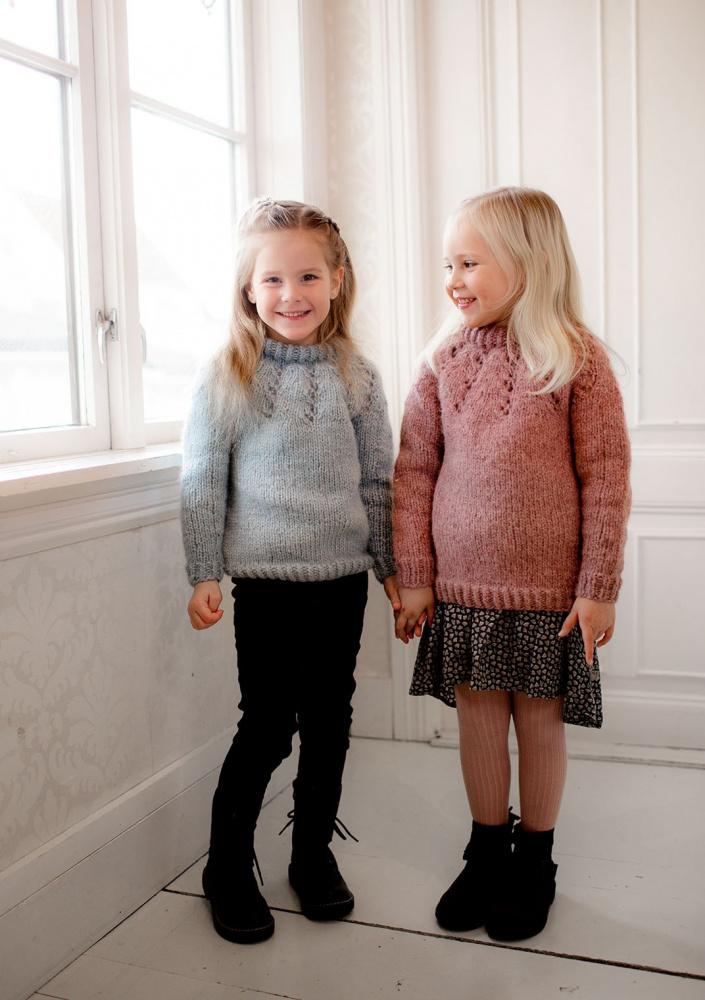 Kjøp Snøfall Barnegenser Garnpakke her! Nøstenett Dine